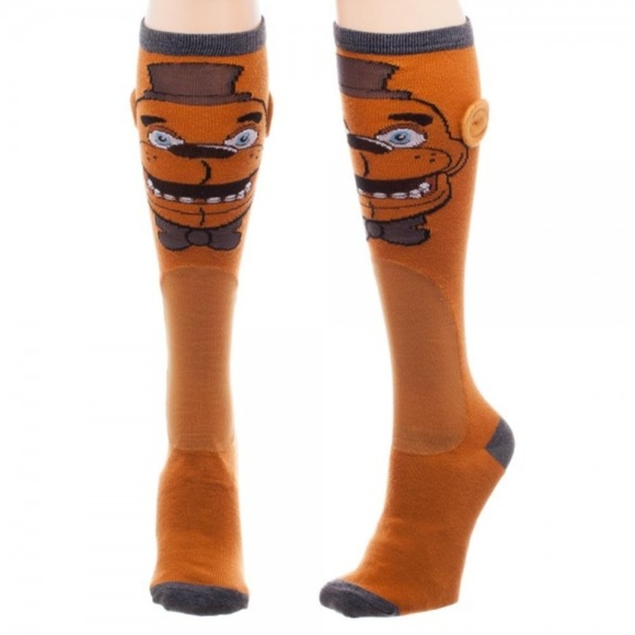 cf158c04651 Five Night s at Freddy s Fozbear Knee High Socks. Boutique. Bioworld